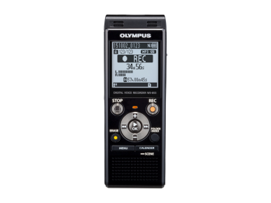 WS‑853, Olympus, Audio Recording