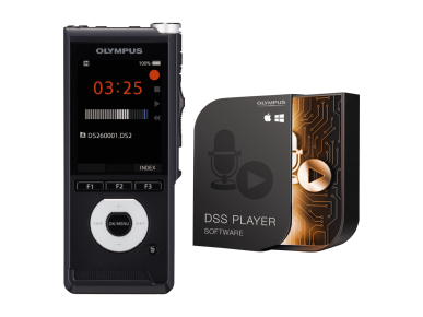 DS‑2600, Olympus, Audio Recording